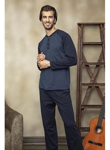Fatih Yüreğilli Pijama Takım İndigo